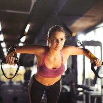 Pilates - Fitness gürtel / reifen