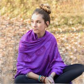 Meditationsumschlagtuch