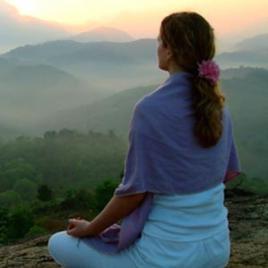 Meditationsdecke