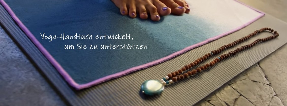 Yoga Hand,- und Aufliegetuch